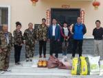 公司领导看望慰问驻村工作组