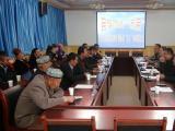 水务集团邀温宿县阿热勒镇喀什博依村亲戚座谈联谊 共度五一