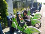 奎屯公共自行车可以扫码租车了